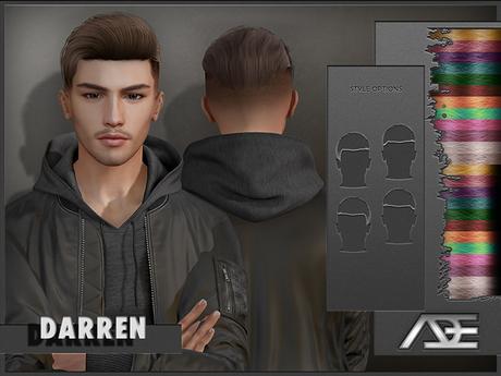Ade - Darren Hairstyle (Mix)