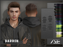 Ade - Darren Hairstyle (Colored Highlights)