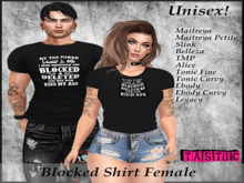 Tastic-Blocked Shirt Female