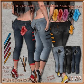 ## India ## Paint Pants
