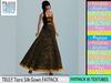 TRULY Tiara Silk Gown FATPACK