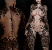 Vezzo Ink Tattoo - Nori Black