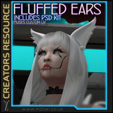 [inZoxi] - Fluffed Ears MODKIT with Applier System