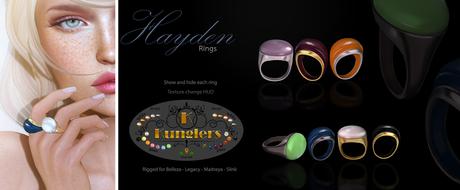 KUNGLERS - Hayden rings