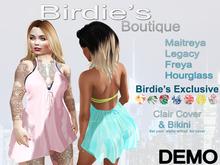 Birdie's Boutique - Clair Beach Cover DEMO