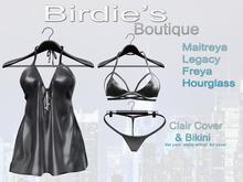 Birdie's Boutique - Clair Beach Cover - Black