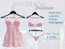 Birdie's Boutique - Clair Beach Cover - Pink