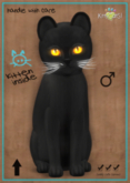 KittyCatS Box - Russian - Black - Fire