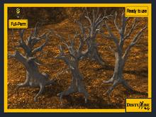 ::DisturbeD:: Dead Trees Pack - FULL PERM MESH