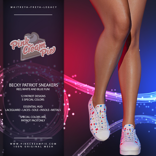 !PCP :: Becky Sneakers [Patriot Pack]