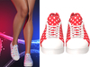 !PCP :: Becky Sneakers [Patriot Red Dots]