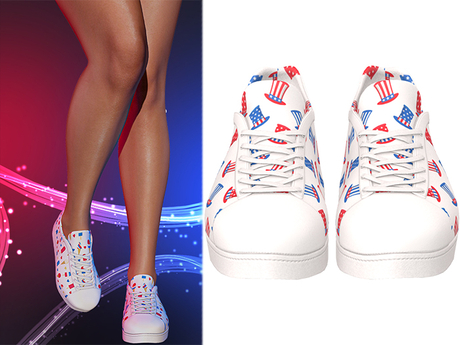 !PCP :: Becky Sneakers [Patriot Hats]