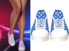 !PCP :: Becky Sneakers [Patriot Blue Star]