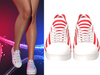 !PCP :: Becky Sneakers [Patriot Red Stripe]