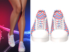 !PCP :: Becky Sneakers [Patriot Chevron]