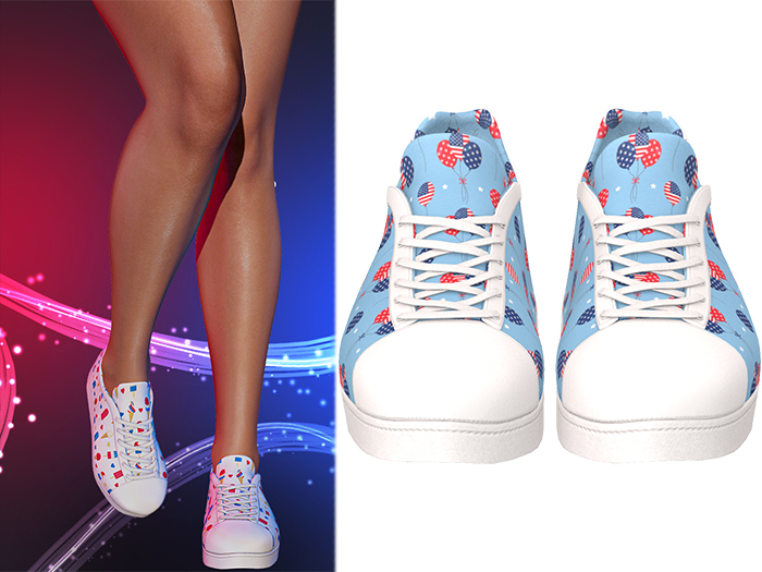 !PCP :: Becky Sneakers [Patriot Balloons]