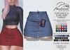 """Amataria - Jeans Skirt & Panties """"Karma"""" - Fatpack"""