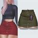 "Amataria - Jeans Skirt ""Karma"" - khaki"