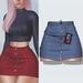 "Amataria - Jeans Skirt ""Karma"" - blue"
