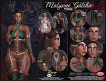 :[P]:- Malysine Gatcha [Lara] Set Petal