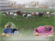 JIAN Posh Pups ::Snuggly Pup Bed (BOX) RARE