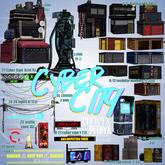 PIRAYA&TROPIX - Cyber City Gacha - modular building 02