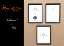 Moonley Inc. - Pumpkin Love Frame Set