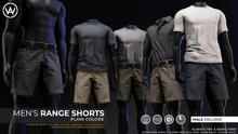 [WAZ] Range Shorts (Olive) BOXED [Add/Rezz]