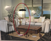 <Heart Homes> - Industrial Charme - Lamp -Disc-