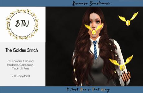 BTW - The Golden Snitch