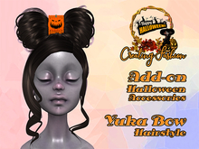 ::CF:: Yuka Bow Hairstyle - add-on Halloween Accessories