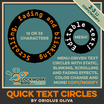 [OO][BOX] Quick Text Circles