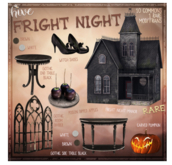 hive // fright night manor RARE
