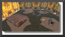 Wild West structures composition set