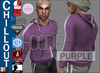 EMS - CHILLOUT HOODIE - PURPLE