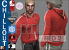 EMS - CHILLOUT HOODIE - RED 2