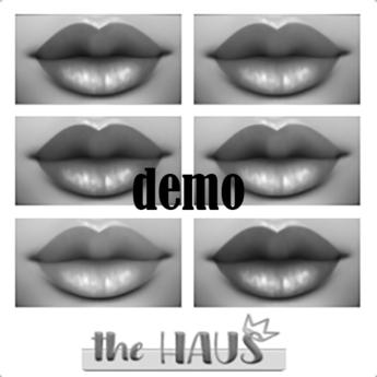 .:the-HAUS:. Sydd Lipstick Pallet DEMO