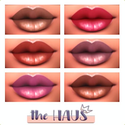 .:the-HAUS:. Sydd Lipstick Pallet