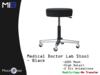 [MB3] Medical Doctor Lab Stool - Black