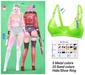 MIWAS / Rei Bra top #NeonGreen