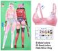 MIWAS / Rei Bra top #Pink