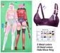 MIWAS / Rei Bra top #Violet