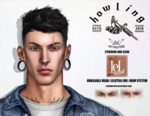 [ H O W L I N G ]-RUSSAN- eyebrows