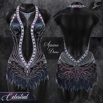 Gulabi [Apsara] Dress - Celestial