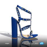 [Gos] Megan Rockstud Sandals - Classic Blue