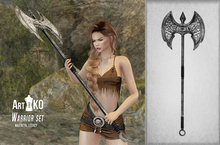 Art&KO - Warrior set - Ax