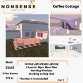Nonsense Coffee Cottage Home