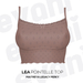 evani. Lea pointelle top - latte -