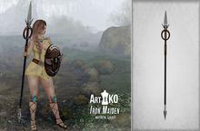 Art&Ko - Iron Maiden - Spear