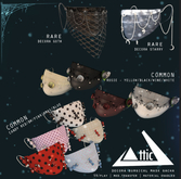 -ATTIC- Decora Surgical Mask Candy Red